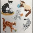 Sandylion Fuzzy CATS Retro Rare Vintage Retired FM451