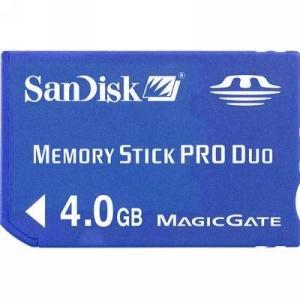 4gb Memory Stick Pro Duo