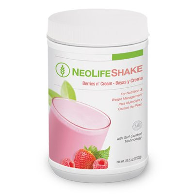 NeoLifeShake- Berries n' Cream (Case Qty 6)