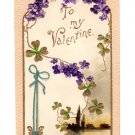 Valentine Collectible Embossed Post Cards Circa 1910 Set of 3