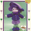 Plum Preserve Crocheted Doll Pattern Dumplin Designs Lollipop Lane Vintage Pattern