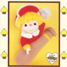 Popcorn Crochet Doll Pattern Dumplin Designs Cupcake Corner Vintage Pattern