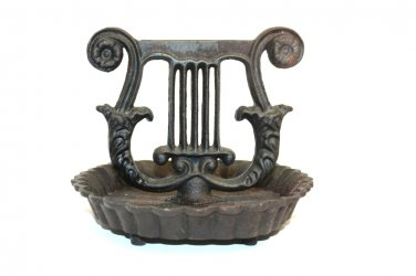 Antique Cast Iron American Boot Scraper
