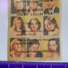 1932 Screen Stars Hollywood stamps lithographed lot Irene Dunn