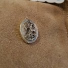 Handcarved Shell Cameo Skeleton Aviator in Sterling Silver
