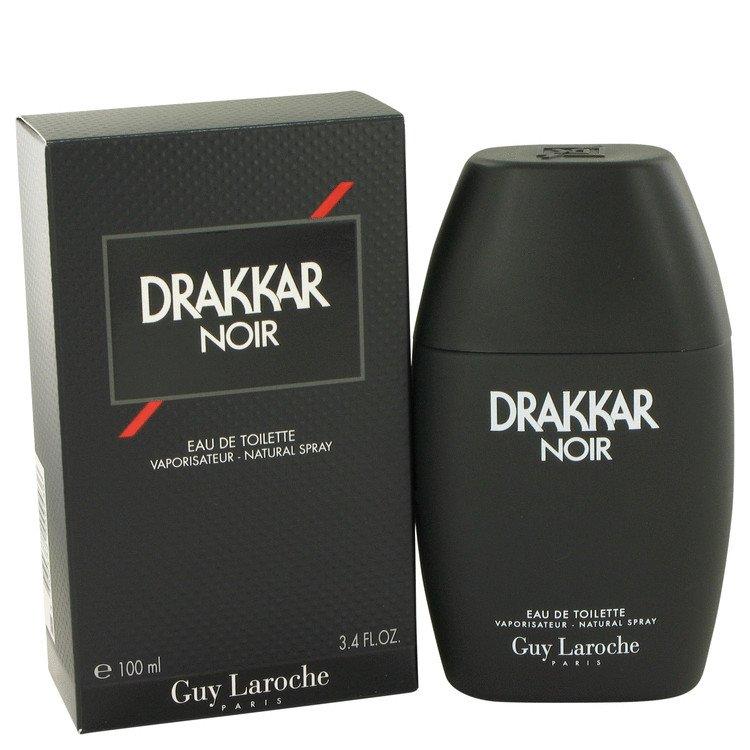 DRAKKAR NOIR by Guy Laroche, Eau De Toilette Spray 3.4 oz