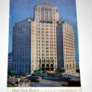 Postcard, Vintage, Hotel Mark Hopkins, San Francisco