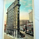 Postcard, Vintage, Flatiron Building, Atlanta, 1930s
