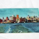 Postcard, Vintage, San Francisco Skyline, Late 1940s