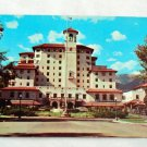 Postcard, Vintage, Front Vista of the Broadmoor Hotel, 1950s