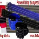 Powerlifting Leather Belts Double Prong