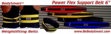 """Wt/Lifting Backsupport Belt Neoprene 6"""""""