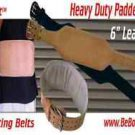 "Weightlifting Backsupport Belt 6"" Padded"