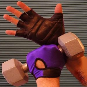Weightlifting Gloves Padded Back Stretch