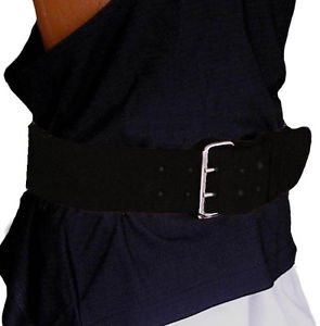 Weightlifting Leather Back Support belt 4""