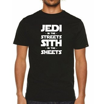 Jedi In The Streets Sith In The Sheets T-Shirt