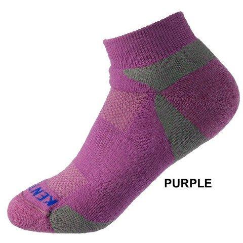 KentWool Men's Tour Profile Golf Sock Purple Medium