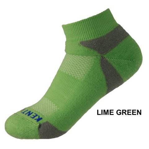 KentWool Men's Tour Profile Golf Sock-Lime Green Medium