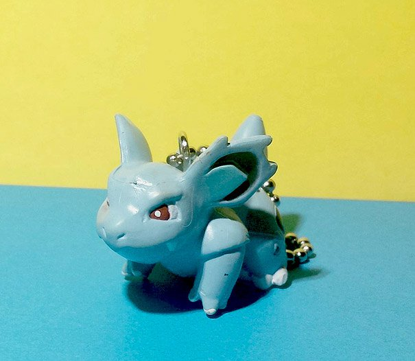 Nidorina Pokemon Keychain figure