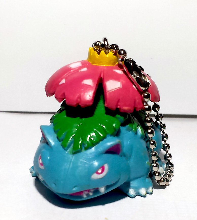 Venusaur Pokemon Swing Keychain figure