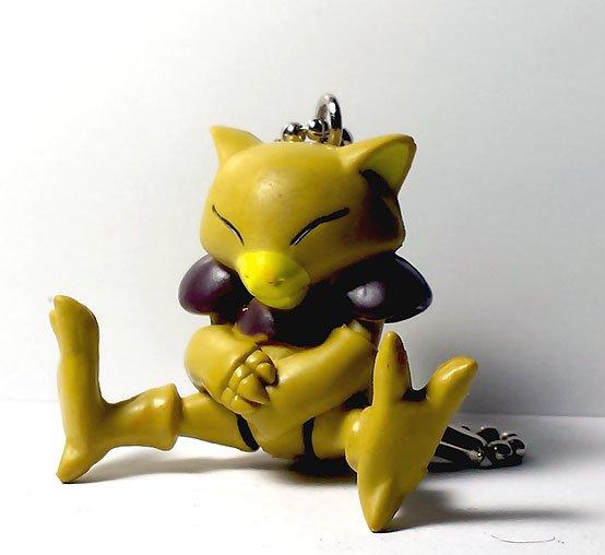 Abra Pokemon Keychain figure