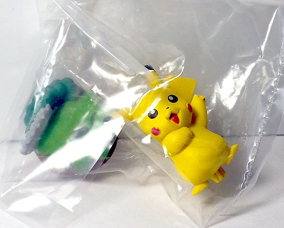 Pikachu Pokemon Buildable Figure Collection Series Set 5