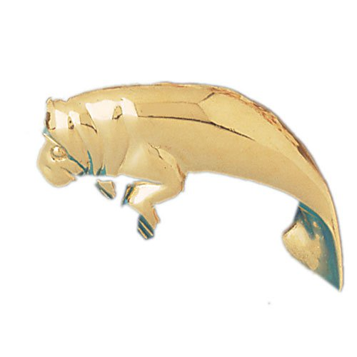 14K GOLD NAUTICAL CHARM - MANATEE #892