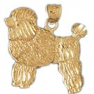 14K GOLD ANIMAL CHARM - DOG #2173