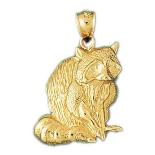 14K GOLD ANIMAL CHARM - FOX #2749