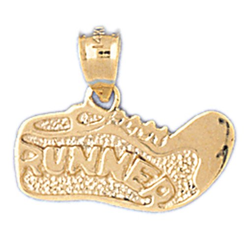 14K GOLD SPORT CHARM - RUNNER SHOE #3601