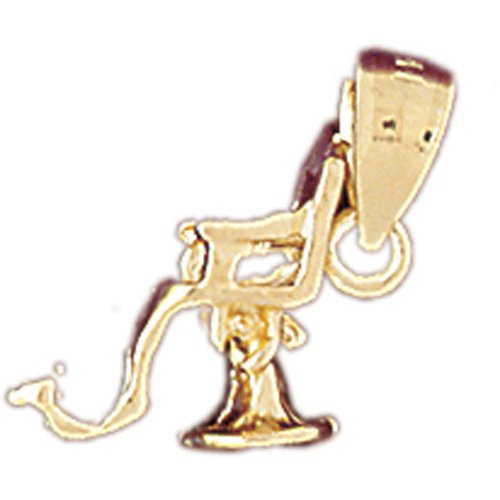 14K GOLD MEDICAL CHARM - DENTISTS CHAIR #4755
