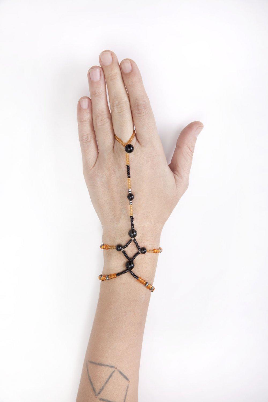 THE TIGRESS | 1st Chakra Opening Activation Bracelet