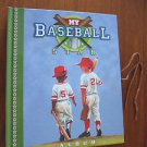 MY BASEBALL STAR ALBUM - HARD COVER - 16 PAGES, NEW, TELEGRAPH ROAD