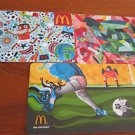 McDonalds / Mac Donalds COLLECTOR GIFT CARDS - Brazil Soccer World Cup NEW 2014