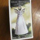 "Christmas Tree Decoration - Ornament - Beautiful Glass Angel, 5"" high (13cm)"