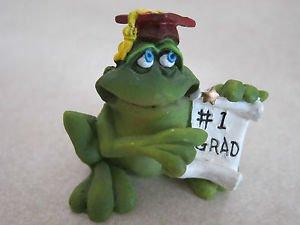 Russ Berrie Figurine - Frog / Toad #1 GRAD
