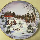 The Season's Best by Susan R. Sampson, Original art, First Edition, Round Plate