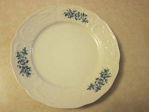 Rosenthal Classic Dinner Plate from Germany - collector, Blue, White, Floral