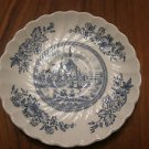 Small plate - Pattern: Tulip Time - Blue & White - EXCELLENT by Johnson Brothers