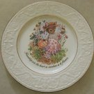 FRIENDSHIP is to the Hearts, CROWN DEVON STAFFORDSHIRE, DECOR PLATE 9""