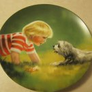 Collector Plate Making Friends by Donald Zolan, Pemberton & Oaks