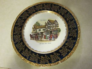 Old Coach House, Bristol, Souvenir Collector Plate by Weatherby Hanley England