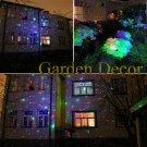 Red&Green&Blue moving outdoor garden laser light/waterproof IP65