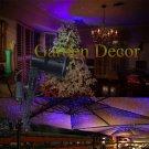 Moving Outdoor Red&Blue Garden Laser Light for Christmas Garden Decoration