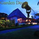 Landscape Outdoor Red&Blue Static Garden laser lighting for Holiday outdoor decoration