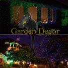 Outdoor Static Green&Blue lanscape laser light/lawn light/pool/grass light for Garden decoration