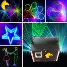 1.2w RGB laser light with 2D/3D/SD disco laser pub/club/party lighting