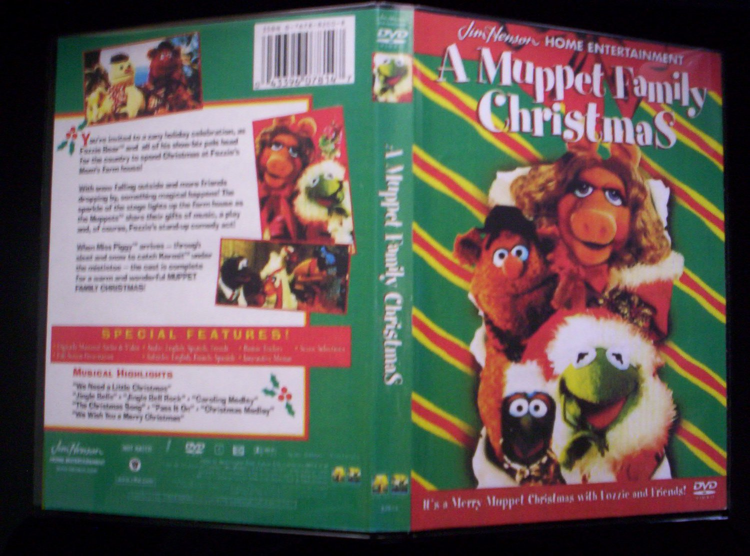 a muppet family christmas dvd 1987 tv special