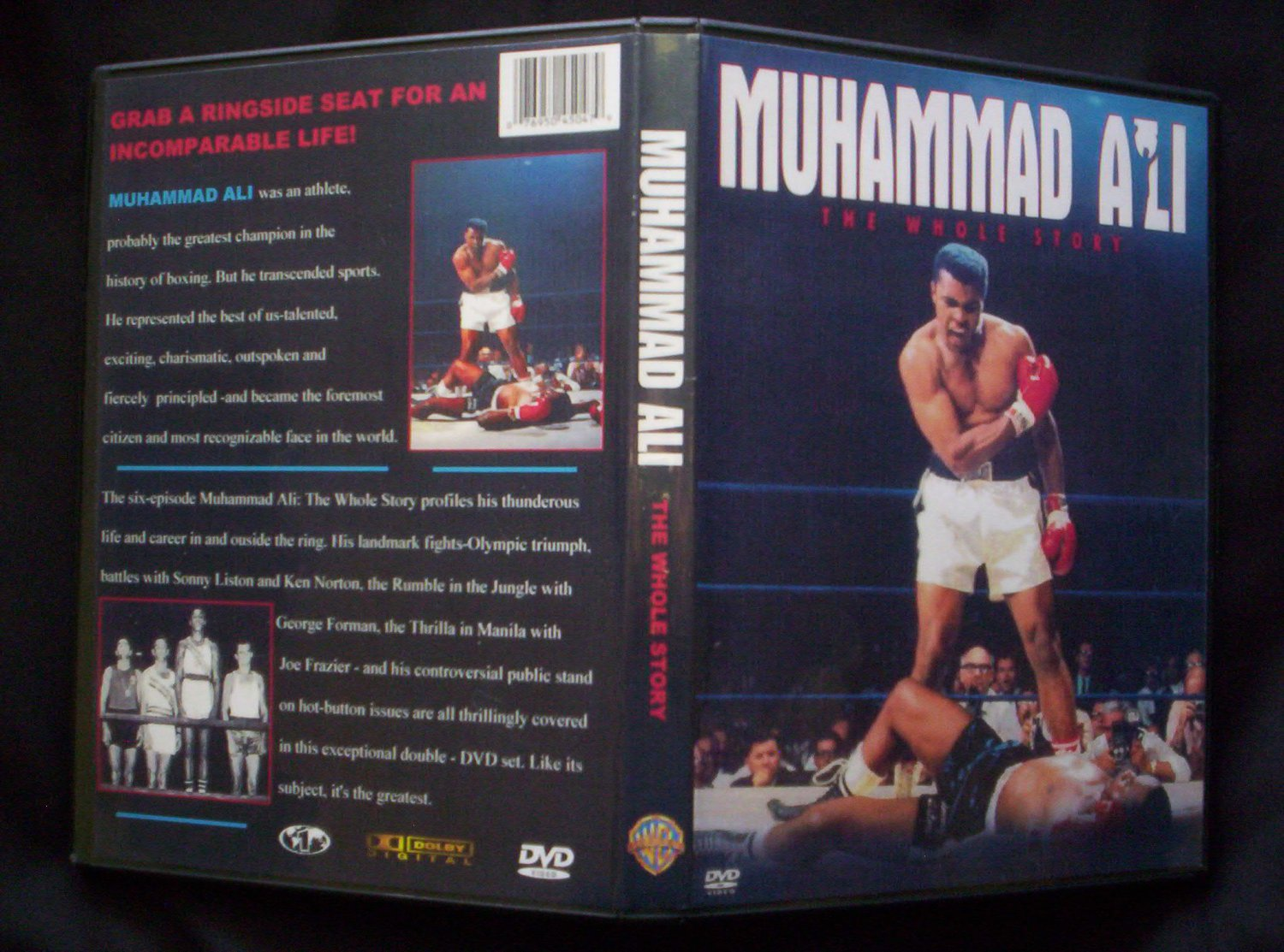 MUHAMMAD ALI The Whole Story DVD