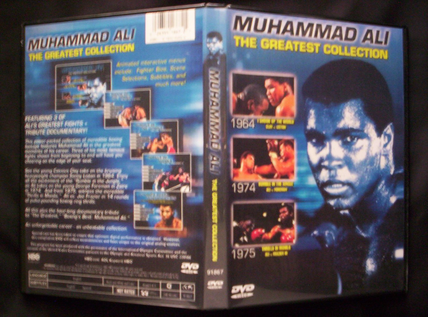 Muhammad Ali The Greatest Collection DVD